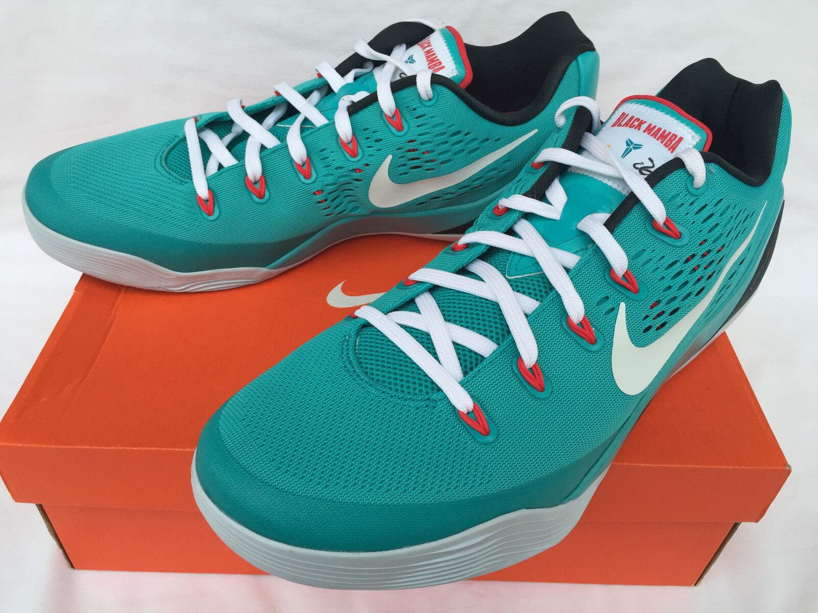 Nike Kobe IX 9 EM Black Mamba 646701-316 Men's Dusty Cactus Basketball Shoes Men's 646701-316 13 272715