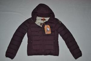 AUTHENTIC-PARAJUMPERS-JULIET-GIRLS-DOWN-JACKET-BORDEAUX-YOUTH-MEDIUM-BRAND-NEW