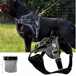 Dog Harness Soft Reflective Harness Pet Control Walk Out Hand Strap