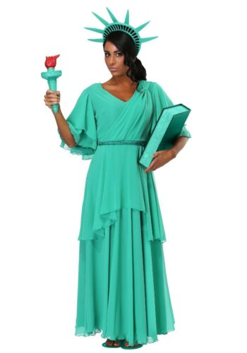 with defect Women/'s Statue of Liberty Costume Size S M