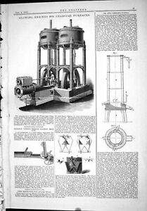Old-1885-Blowing-Engines-Charcoal-Furnaces-Billings-Breech-Loading-Gu-Victorian