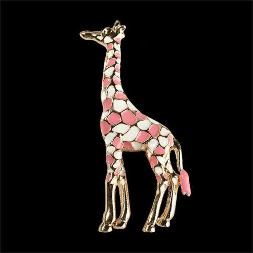 Animal Giraffe Brooches for Women Cute Brooch Pin Fashion Charm Jewelry N7
