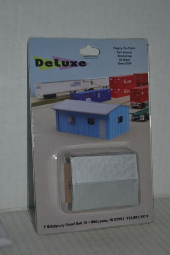 Deluxe Innovations 354 Tan Armco Work Shop N Scale