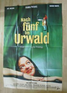 Filmplakat : Nach fünf im Urwald ( Franka Potente ,Axel Milberg ) DINA0 - Braunschweig, Deutschland - Filmplakat : Nach fünf im Urwald ( Franka Potente ,Axel Milberg ) DINA0 - Braunschweig, Deutschland