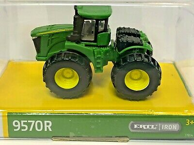 ERTL//IRON COLLECTION Sealed New Farm Toy Model 318E John Deere Skid Steer