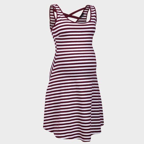 New Look Maternity Stripe Cotton Short Sun Summer Holiday Dress Nightwear Pyjama