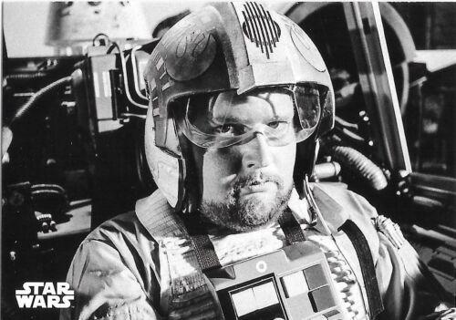 Jek Porkins 2018 Topps Star Wars Black /& White A New Hope #134 Red Six