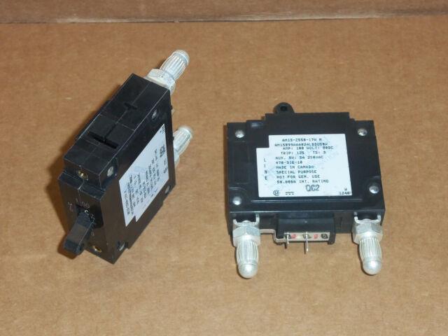 HEINEMANN--AM1S-Z550-17W--100 Amp DC Bullet Breaker