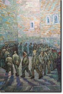 Prisoners-Exercising-Vincent-Van-Gogh-Art-Print-Poster-1890-Painting