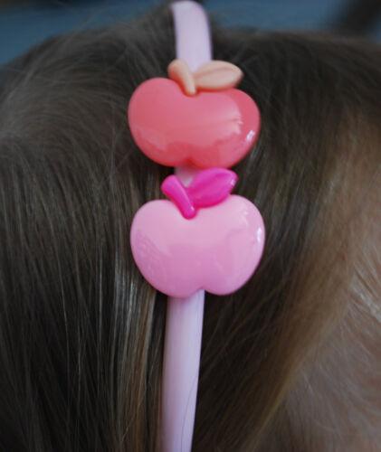Capelli maturi capelli PNEUMATICI haarchmuck Bambini Ragazza Fiori Mela colore neon
