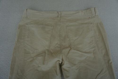 PROMISS Jeans Femmes feincord Cord pantalon stretch T 40 w34 l32 beige crème neuf #d