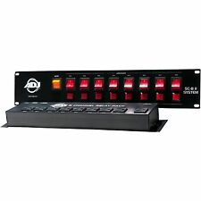 American DJ ADJ SC-8 II System 8 Ch Low Voltage Switch Controller w/ Relay Pack