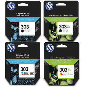 Genuine-HP-303-303XL-Black-and-Colour-Ink-Cartridges-for-Envy-Photo-6230-7130
