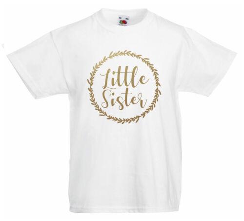 Petite soeur filles T-ShirtWorld/'s Best Big Sister Secret promu nouveau cadeau