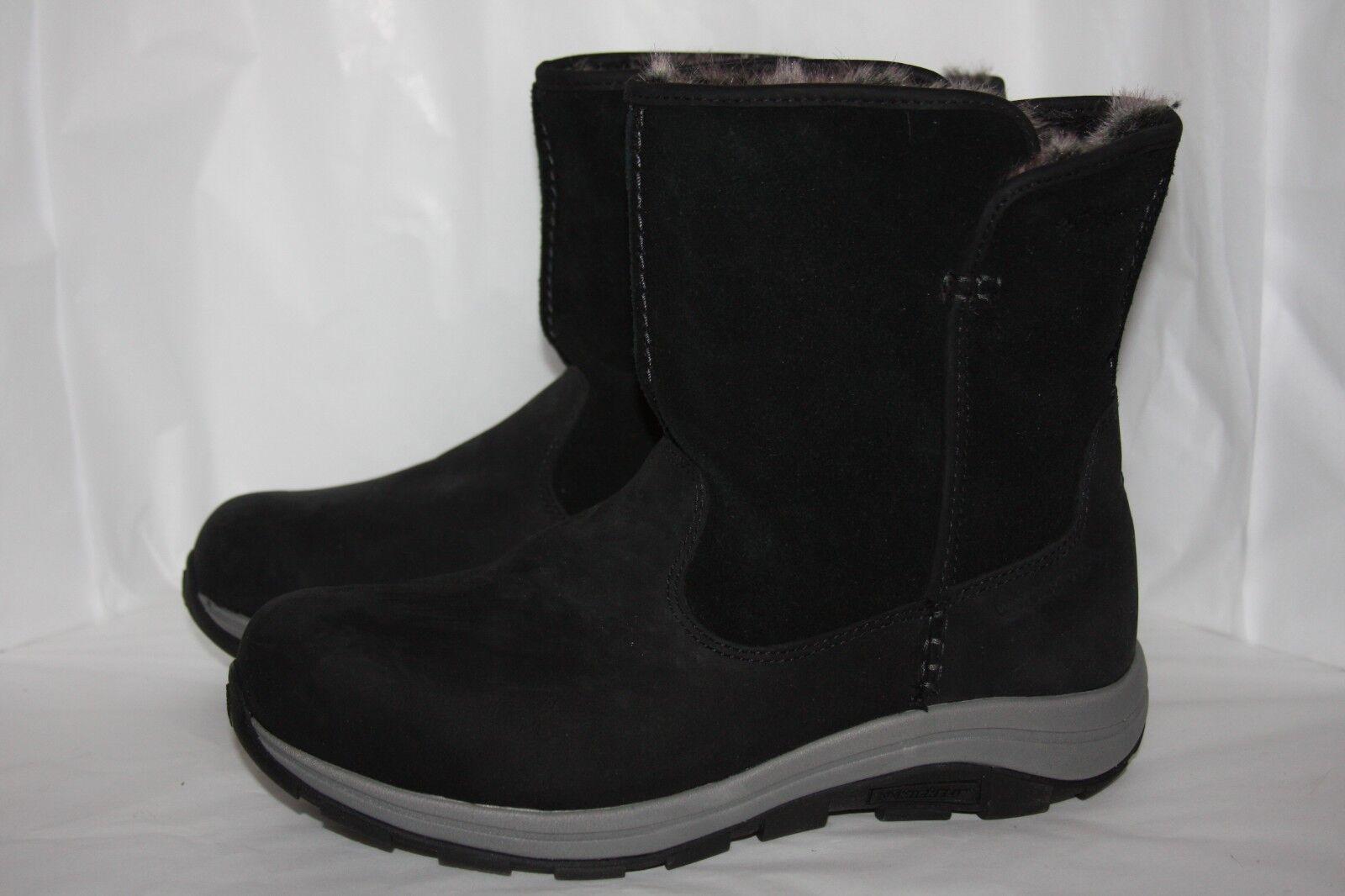 Columbia bangor slip omni heat schwarz snow boots Damens's Größe 10 m