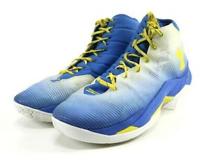 Basketball Shoes Size 15 Blue Yellow