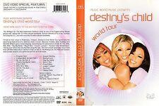 DESTINY'S CHILD - world Tour - 2005 - 1 DVD