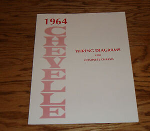 1964 Chevrolet Chevelle Wiring Diagram Manual for Complete ...