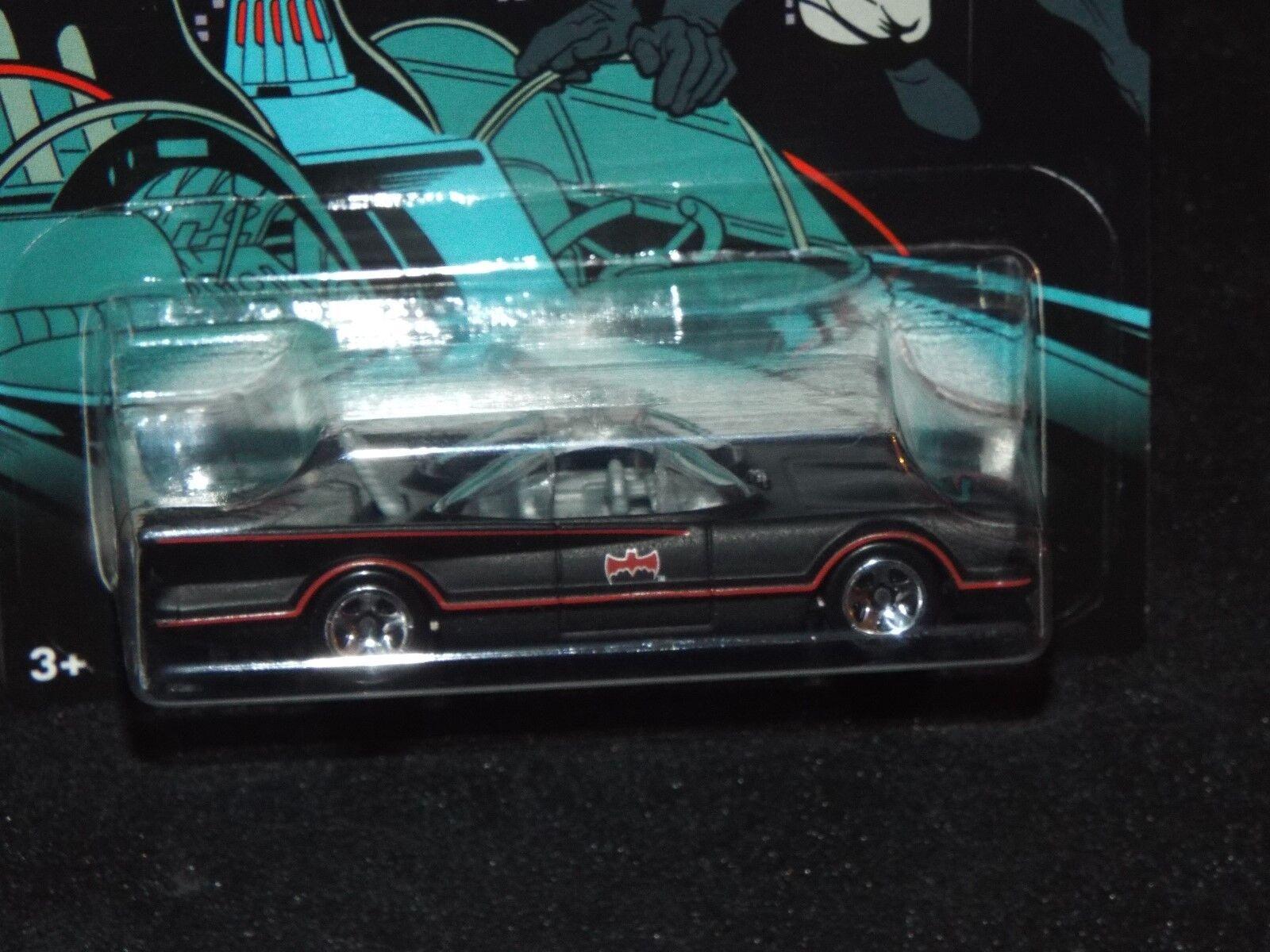 (5) (5) (5) 2015 Hot Wheels BATMAN 1966 CLASSIC TV SERIES BATMOBILE Walmart 1 64 70cd6d