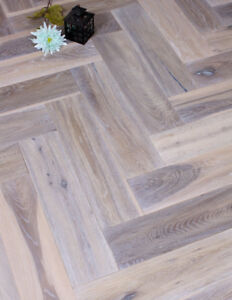 Image Is Loading Moonlight Distressed Grey Herringbone Oak Engineered Wood Floor