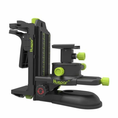 Huepar PV10 Wandhalterung Feineinstellbare Halterung Adapter für Laserstativ