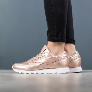 ea0358fcb144ae WOMEN S SHOES SNEAKERS REEBOK CLASSIC LEATHER MELTED METAL  BS7897 ...