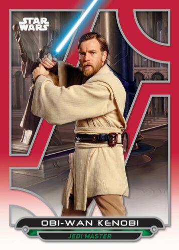 Topps Star Wars Trader GALACTIC FILES W2 RED Obi-Wan Kenobi ROTS 100cc DIGITAL