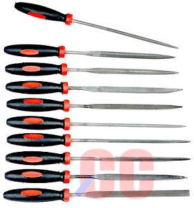 Paquetage-D-039-aiguille-10-Pces-Poche-Mini-Kit-Plat-Pointu-Demi-Rond-Parallele