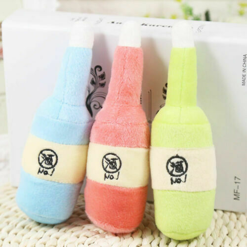 Pet Dog Cat Toy Funny Puppy Chew Squeaker Squeaky Plush Lovely Play Sound Toys