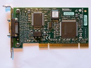 National-Instruments-PCI-GPIB-Low-Profile-Karte-ieee488-mit-Kabel-2m