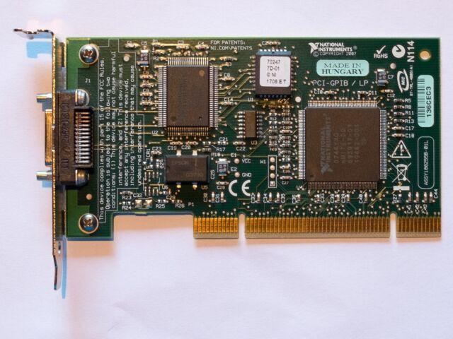 ... National Instruments PCI GPIB Low Profile Karte ieee488 mit Kabel 2m