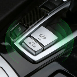 For BMW 5 Series F10 F11 Inner Console Electronic Handbrake AUTO H Button Cover