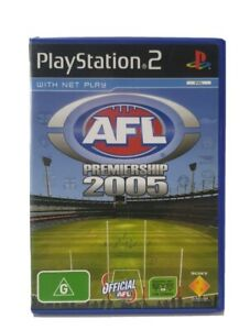 PS2-AFL-Premiership-2005-Inc-Manual