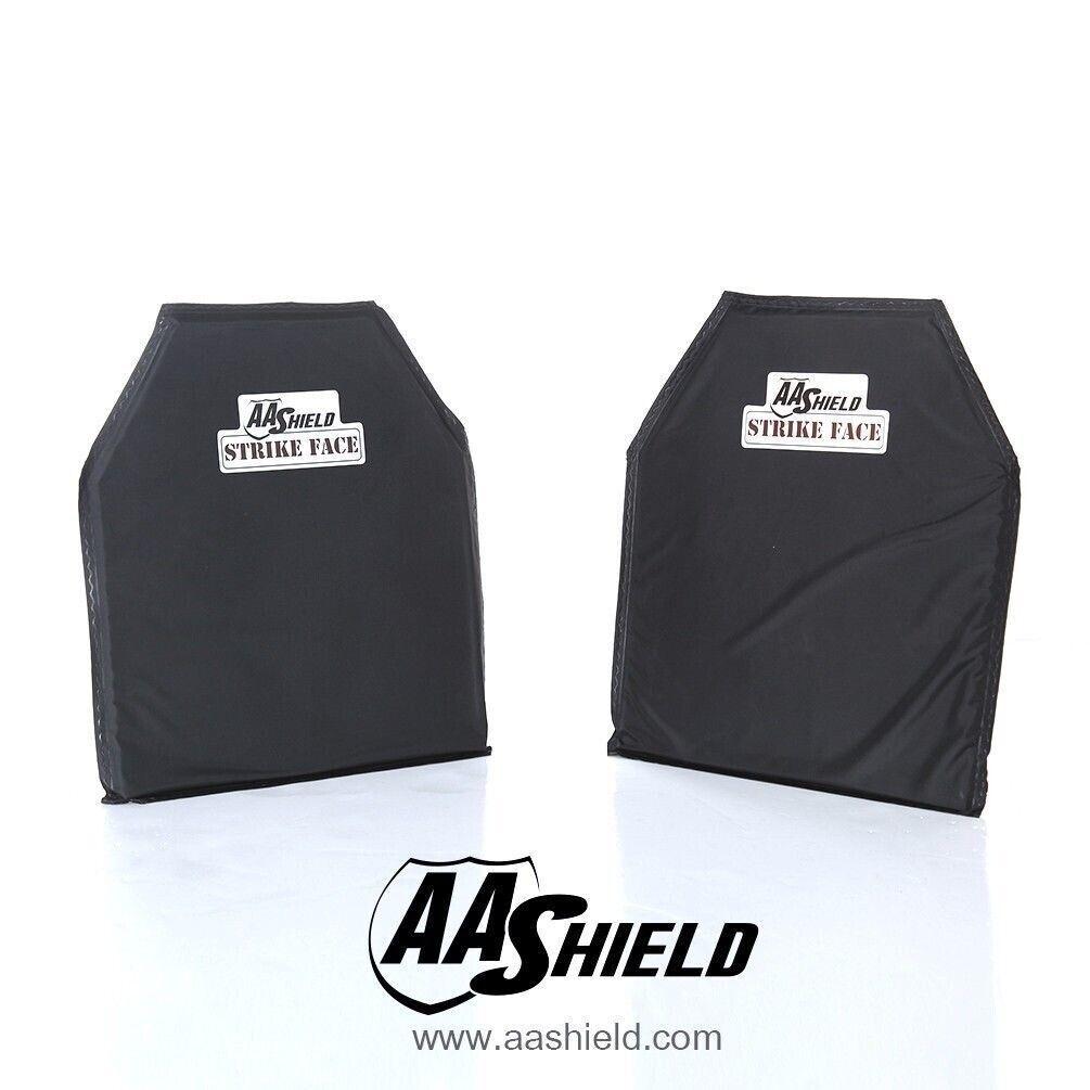 AA Shield Plaque insert balistique gilet par-balles panneau aramide10X12 2 paire