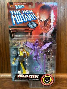 Magik Vintage X-Men The New Mutants Action Figure 1998 Toybiz 90s Silver Variant