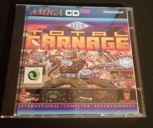 Commodore Amiga CD32 Total Carnage