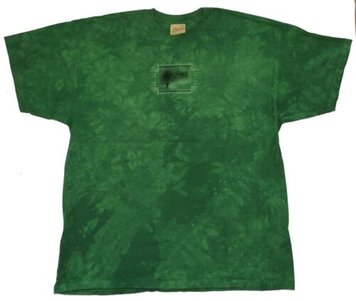 La montagne solitaire Angler Fishing Tackle Box Lures Green Dye T Shirt Nouveau Officiel
