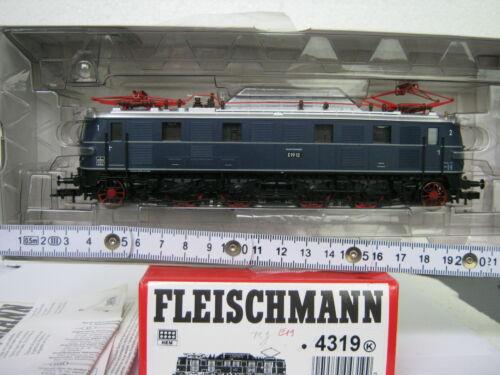 1 von 1 - Fleischmann HO 4319 K E - Lok BR E 1912 DB blau (CD/065-115S9/1)