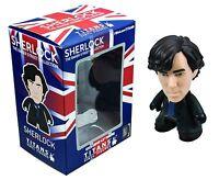 Sherlock Holmes 4.5 Vinyl Titans Figure Cumberbatch 221b Baker St Mint