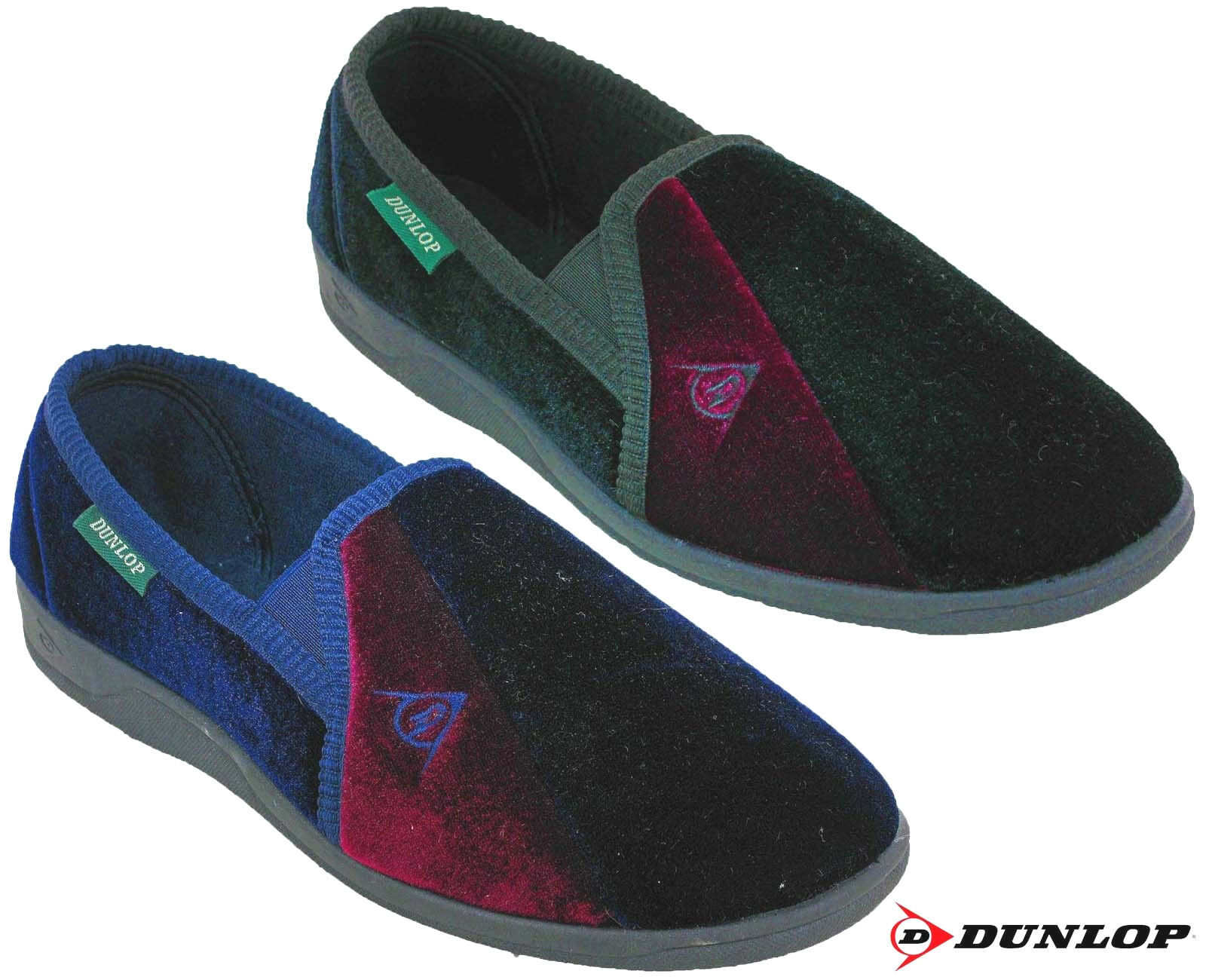 Dunlop Slippers Velour Twin Gusset Outdoor Limited Duncan Hombre Slip On Limited Outdoor Edition adbc25