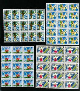 Laos-Stamps-216-8-VF-Lot-of-15-sets-OG-NH-Scott-Value-133-50