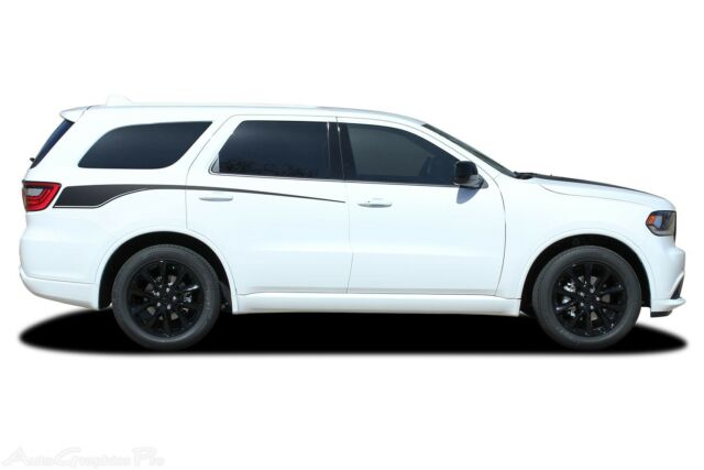 For 2011 2020 Dodge Durango Stripes Door Vinyl Graphic