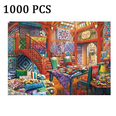 1000 Piece Jigsaw Puzzle Living Room Puzzle For Adults DIY ...