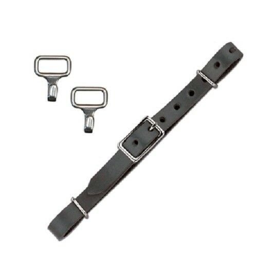 Myler Leather Curb Strap Kit