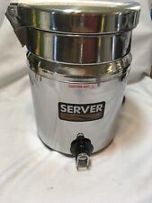 7 Qt Soup Warmer Commerical Grade Stainless Steel Server Products Fs 7