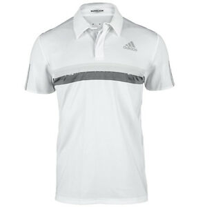 adidas-Men-039-s-Barricade-Polo-White-S15685