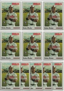 2019-Topps-Heritage-High-Number-Richie-Martin-11-Card-Rookie-Lot-532-Orioles