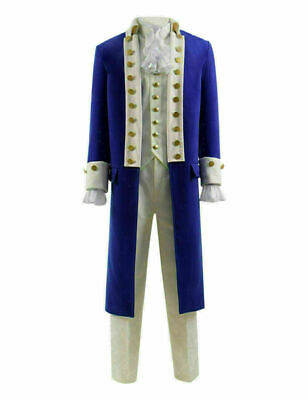 Hamilton Cosplay Costume Men Stage Costume Suit for Show Alexander Hamilton@