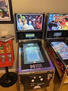 Arcade1up Star Wars Pinball Data East 2 Chrome Decals
