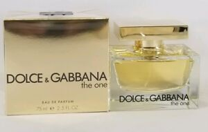 Dolce   Gabbana The One 75mL 2.5 Oz Eau de Parfum Spray for Women ... e7bc4d22b796